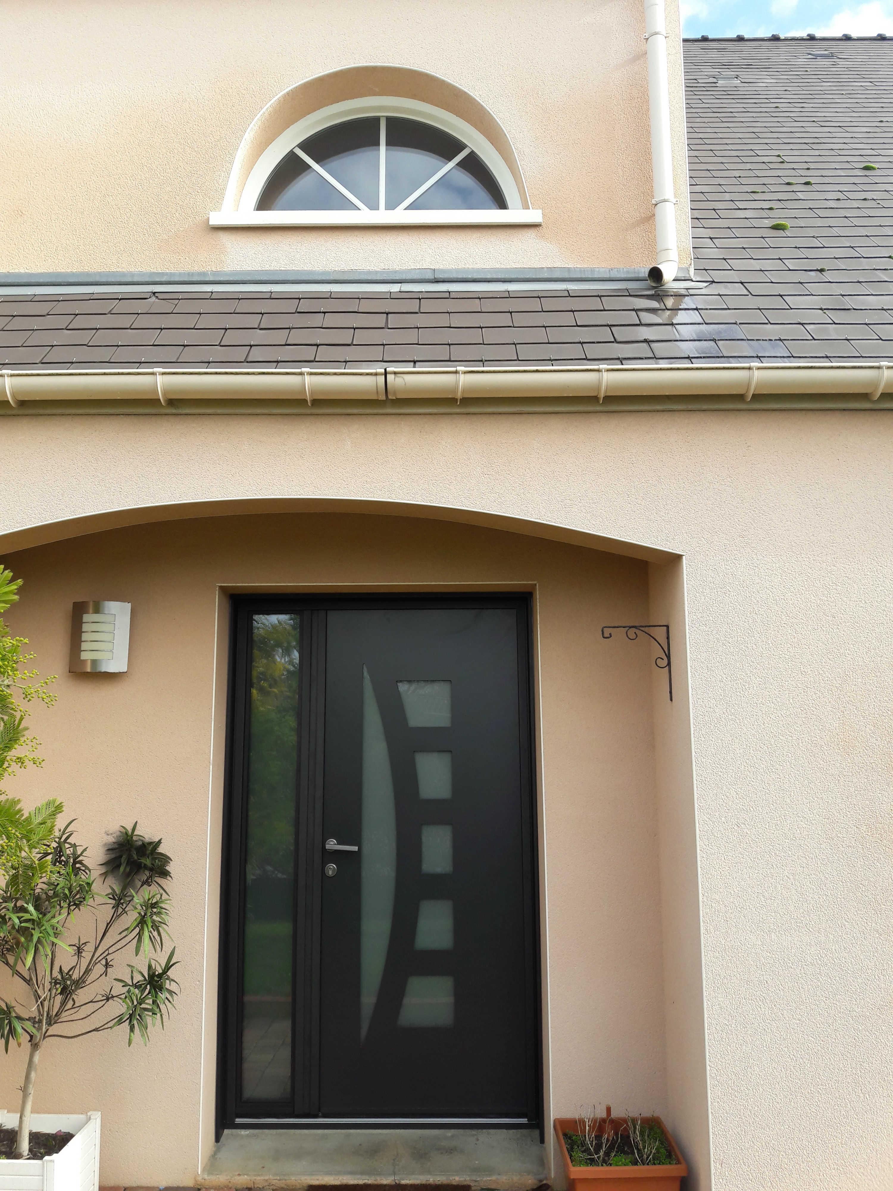 dov ouvertures porte d 39 entree tierce en aluminium k line sainte luce sur loire. Black Bedroom Furniture Sets. Home Design Ideas