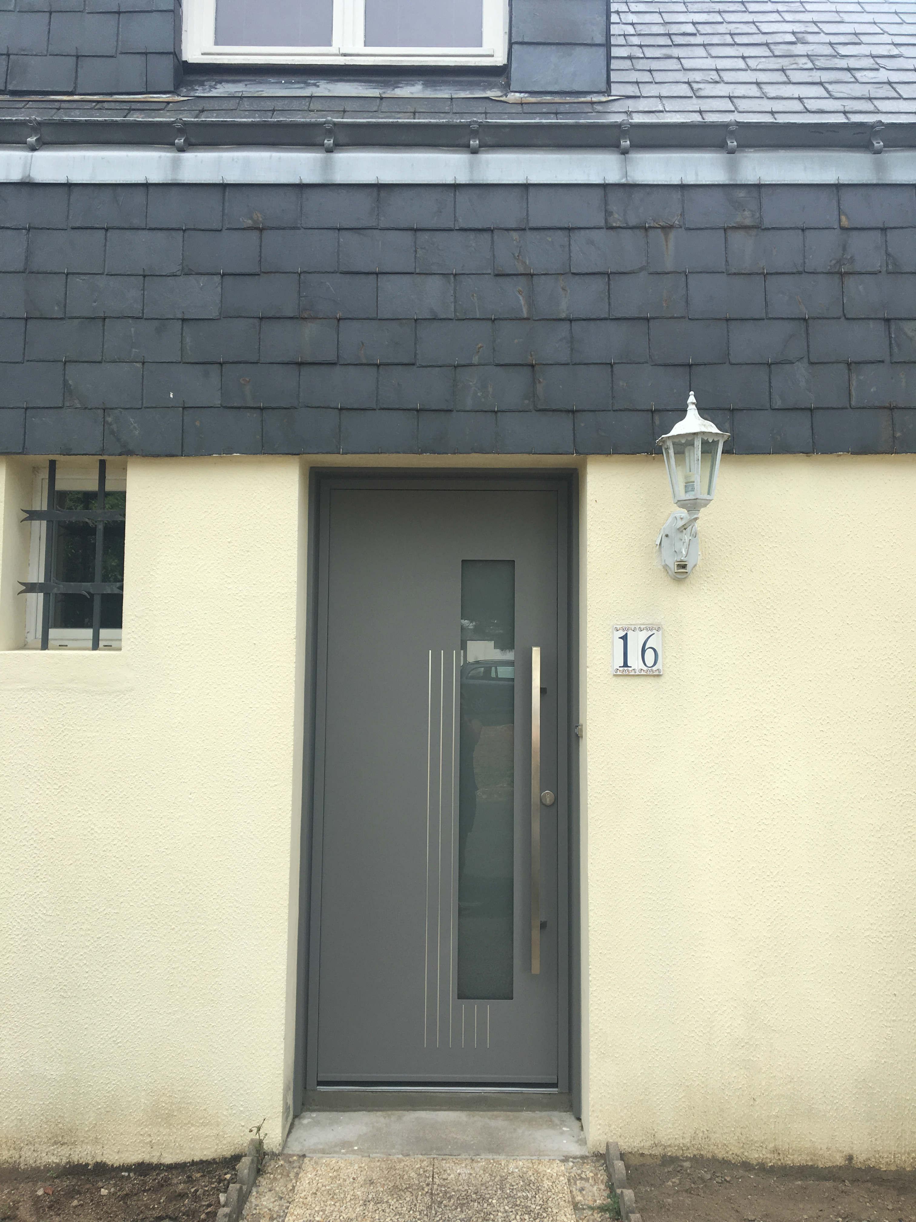 dov ouvertures porte d 39 entree bicolore alu k line sainte luce sur loire. Black Bedroom Furniture Sets. Home Design Ideas
