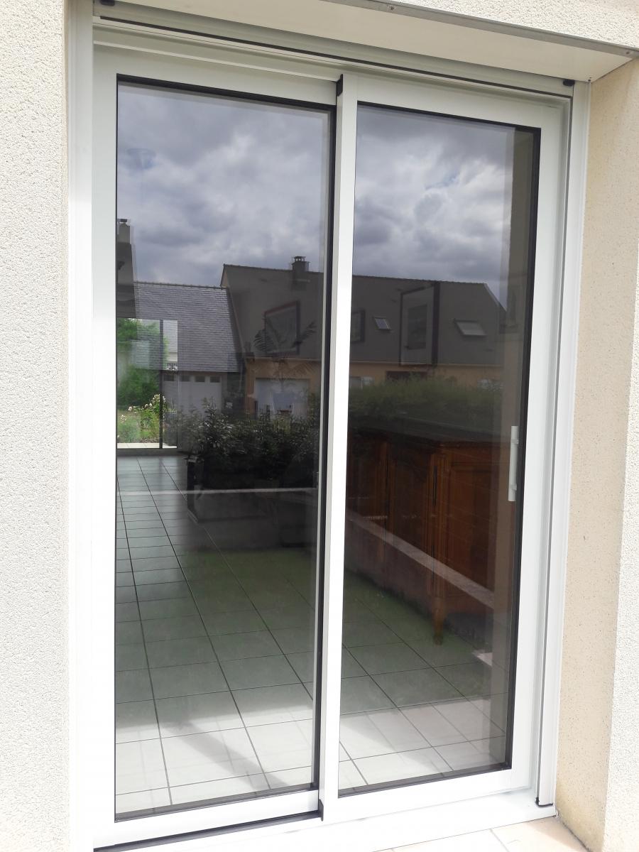 Dov ouvertures porte fen tre coulissante aluminium k line sainte luce sur loire for Porte fenetre taille