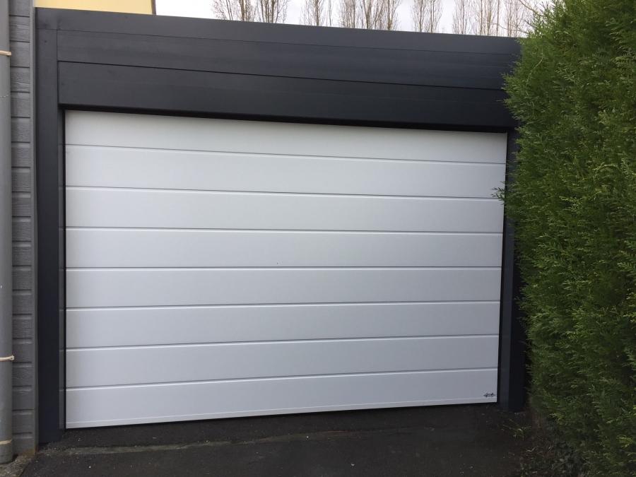 Dov ouvertures porte de garage a refoulement plafond treilli res - Porte de garage a refoulement plafond ...