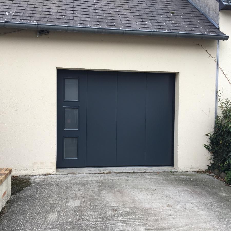 dov ouvertures porte de garage a refoulement lateral