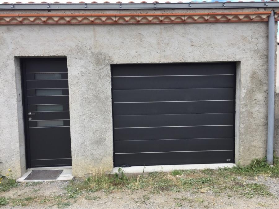 Dov ouvertures porte de garage pont saint martin for Garage saint martin