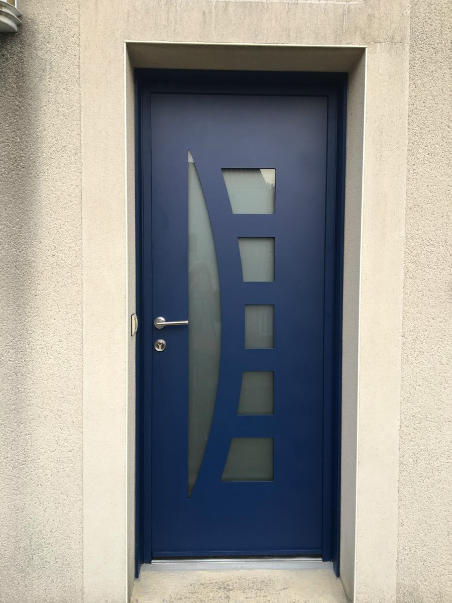 Dov ouvertures porte d 39 entree k line rez for K line porte d entree aluminium